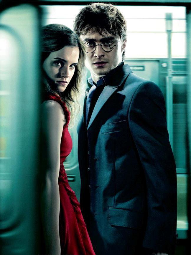 Harry & Hermione (Daniel Radcliffe & Emma Watson)